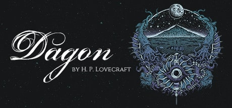 Dagon: by H. P. Lovecraft cover art.