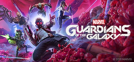 Marvel's Guardians of the Galaxy cover art.