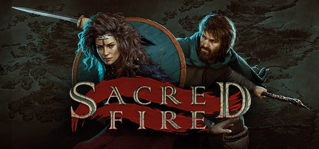 Sacred Fire: A Role Playing Game cover art.