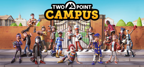 Two Point Campus cover art.
