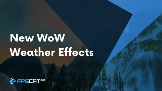 New Weather Effects Coming to World of Warcraft